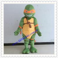 2014 new popular cosplay costume ninja turtle mascot costume