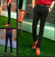 New 2014 Fashion British Style Men Pants Classic Casual Pants Men High Quality Large Size Business Trousers Men