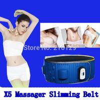 High quality Body 5 motor Vibro 20 health stone 2 kinds of massage mode Slimming Massager Vibrator Waist Belt Slimming Machine