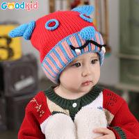 High Quality baby winter warm earmuffs hats & caps with velvet baby girls boys cartoon warm earmuffs  hats winter caps