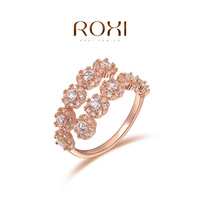 ROXI  Wholesale Rose Gold Plated Austrian crystal Ring fashion jewelry 20141023-25