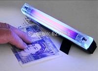 4w Mini Portable UV ultra violet black light lamp torch BANK NOTES Check Free shipping