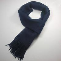 Sherlock Scarf Dark Blue Wool Scarf Costume Sherlock Cosplay Prop Accessories With tasseled ends