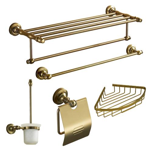 Accesorios De Baño Antiguos:Gold Bathroom Accessories Sets
