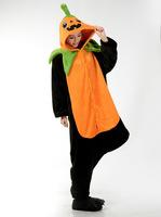Free Shipping Animal Romper Mens Ladies Fleece Suits Onsie Fancy Dress Costume Onesie Pajamas * Halloween pumpkins