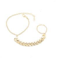 Fashion Chain Bracelet with Ring Fashion Jewelry bracelets & bangles CB058