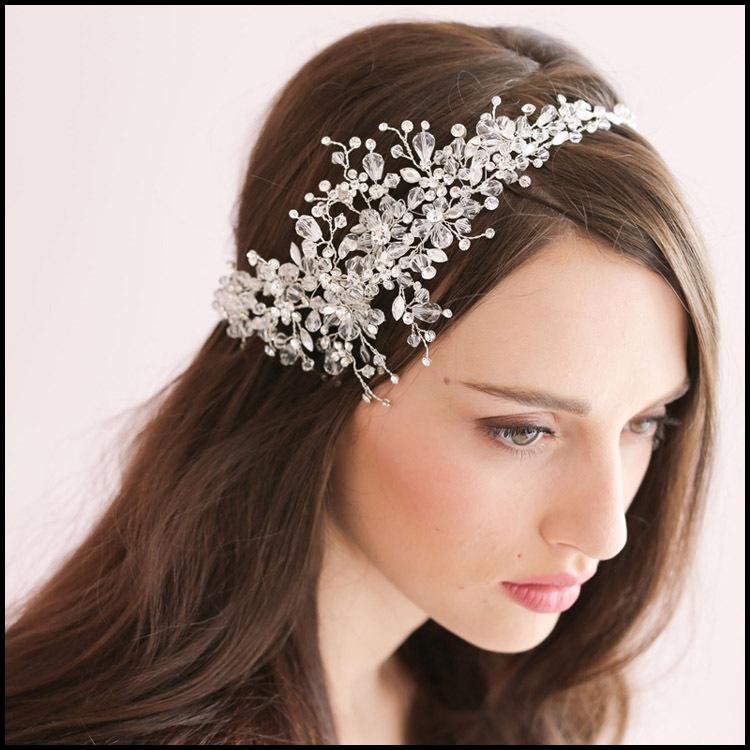 Wedding Hair Jewellery : Luxury rhinestone bridal hair accessories for wedding