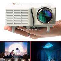 Mini Portable LED Projector Home Cinema Theater PC Laptop VGA USB SD AV HDMI