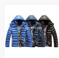 HOT!! New arrivals 2014 free shipping men brand down jacket winter down parka man overcoat