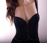 LOLITA Gold Body Chain, Body Necklace, Bikini, Body Chains, Girlfriend Gift LSBJ-017