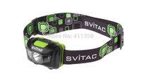 Svitac ST-H1 CREE XP-G R5 With 2 Red LED Waterproof Headlamp Headlight Black