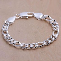 H097 925 sterling silver bracelet, 925 sterling silver fashion jewelry 10mm Bracelet /amlajdsa dybampia