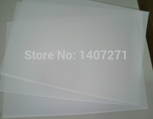 10pcs A4 Inkjet Laser Printing Transparency Film Screen PCB Exposure Positive free shipping(China (Mainland))