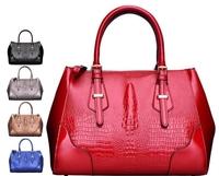 2014 New Design Women Leather Handbag Messenger bags Elegant Women Solid Bag Dragon Printed Leather bags BH864 Free Shipping