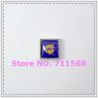LosAngeles Lakers Floating Charms Basketball Tearms Locket Charm For Memory Glass Locket Accessories