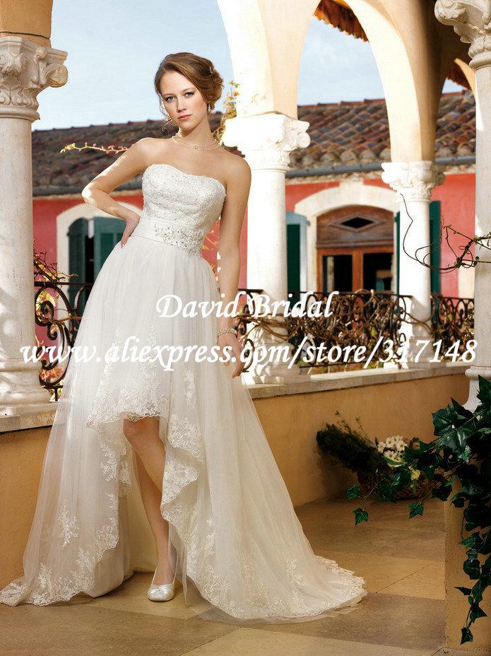 Strapless Bra Low Backed Wedding Dresses 56