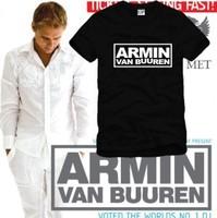 Trance music tee shirt DJ NO.1 star hip hop t shirt tshirt Armin Van Buuren short sleeve t-shirt Netherlands POP Man Women
