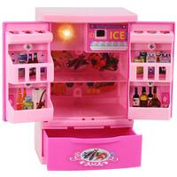 Children House Playsets simulation mini appliance series - mini fridge