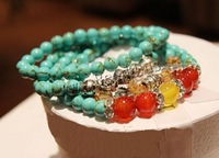 Free shipping!!!Fashion Turquoise Bracelets,Female Jewelry, Zinc Alloy
