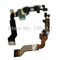 For iphone 4GS Black/White Dock Connector Flex Cable Part