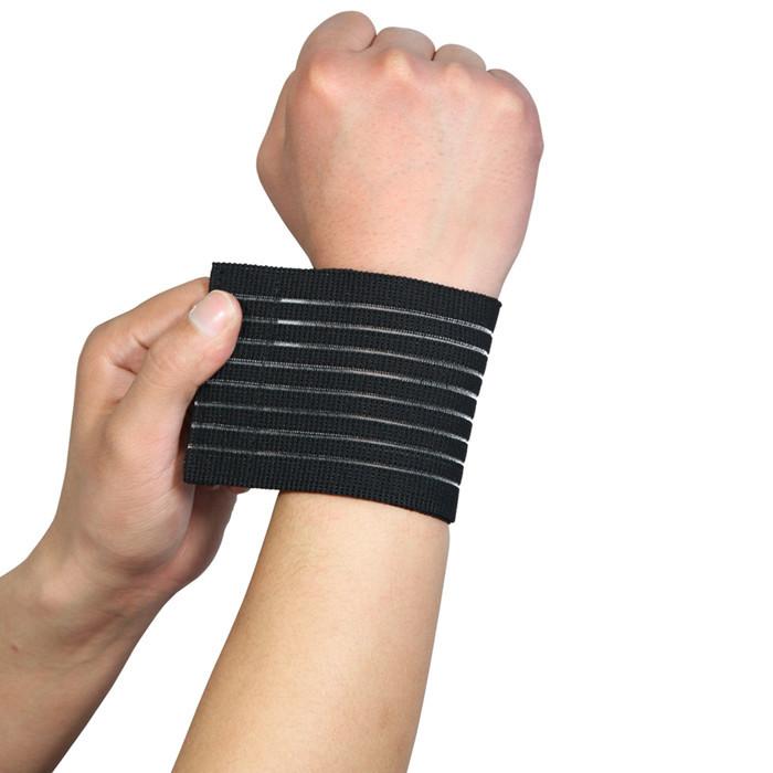 Bandage Bracer High Elasticity Wrist Support for Gym Sport Basketball/Tennis/Badminton Carpal Protector Wrist Nylon Brace 40*8cm(China (Mainland))