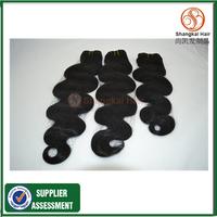 Wholesale Price Shangkai Hair Products 3pcs unprocessed virgin hair weave Peruvian Hair Weft Human hair Extension Bundles