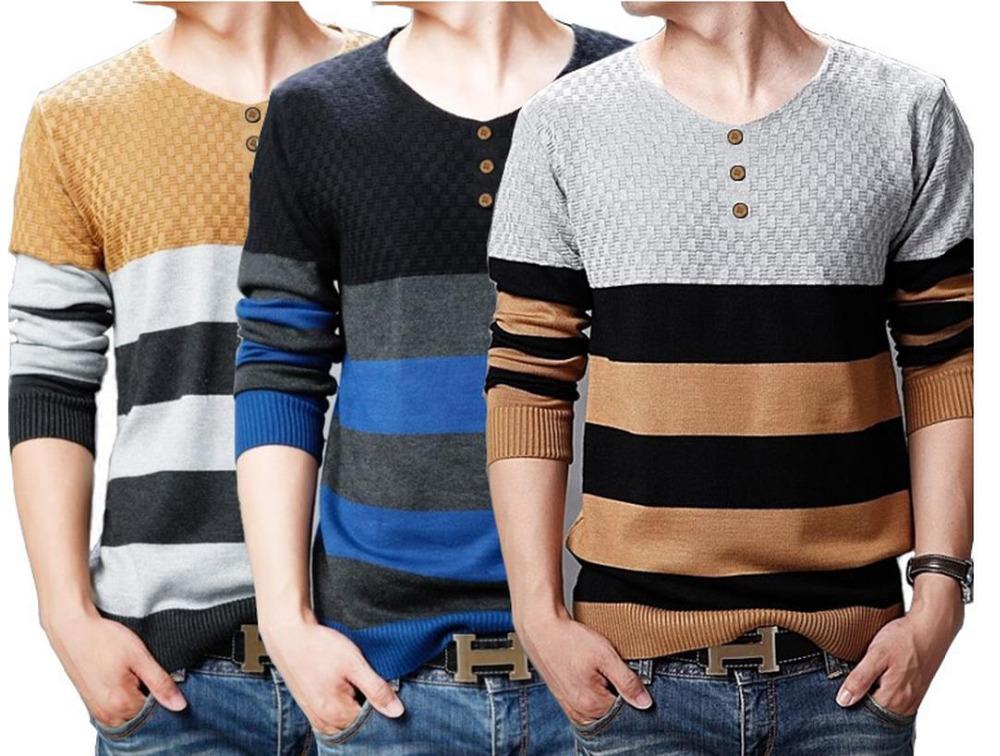 Мужской пуловер o MY026