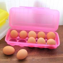 Egg box for refrigerator storage box plastic eggs storage box for picnic storage rack corniculatum eggs storage boxes & bins(China (Mainland))