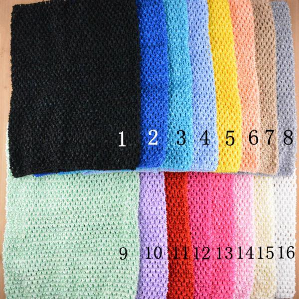 20 colors 12inches Crochet tube top tutu top 24*32cm crochet headband girls pettiskirt tutu tops kids Halter Tops 10pcs/lot(China (Mainland))