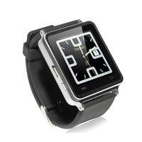 New i7 1.54 Inch TFT handsfree Watch Phone Bluetooth Smart Watch Silver