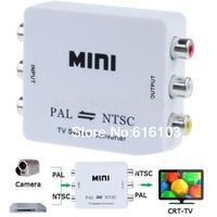 PAL/NTSC/SECAM To PAL/NTSC MINI Bi directional TV Format System Converter