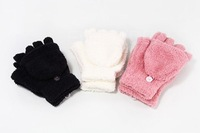 2014 New arrival Unisex Soft Women Fingerless Winter Warm Mitten Cap Gloves Texting Gloves For free shipping