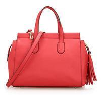 2014 Bohemian styles tassels genuine leather handbags for women, trendy and fashion ladies handbags no MOQ