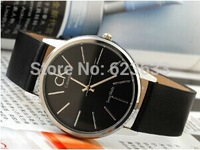 Free shipping! The new 2014 Top men brand luxury fashion leather strap quartz watch military watches women dress watches