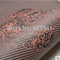 homedecor modern vogue live in high-end luxury foam wallpaper Bedroom,wall paper 10 m * 53 cm luxury home wallpaper  wholesale