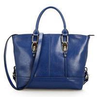 free shipping, fashionable genuine leather tote handbag, wholesale and retail handbags for women