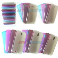 Thin TPU Crystal Clear Gel Back Case Soft Cover For samsung Note2