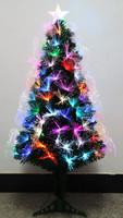 Colorful fiber grade green PVC material can be customized 60cm-600cm Christmas tree using plug