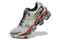 2014 Hot sales Wave prophecy 2  MEN running shoes color silver Athletic Shoes EUR size 40-45,Free shipping