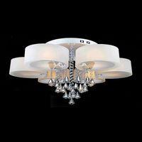 220V Modern Crystal Chandelier Lamp home decoration Lighting led chandelier 5 heads type+ 5PCS 5watt led lamp