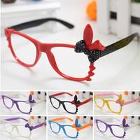 15pcs/lot Kids Glasses Frames with Rabbit Ear Eyeglass Frames Sunglasses No Lens KJ78