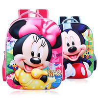3D Kid backpacks boby school bags boy and girl cute bag cartoon bags free shipping