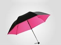 2014 new Ultralight creative pencil umbrella folding umbrella umbrellas Vinyl Super Sunscreen UV umbrella  5 color special price
