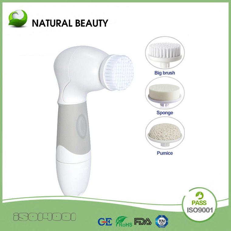 frete grátis cara profissional escova de limpeza facial cuidados da pele spa massagem esfoliante limpar(China (Mainland))