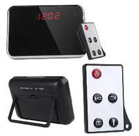 1280*960 Digital Mirror Clock mini Camera Motion Detection HD Clock camera mini DVR with Remote Control