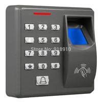 Single door fingerprint access control without software Fingerprint,RFID card and Password