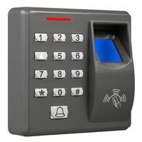 Single door fingerprint access control without software Fingerprint,RFID card and Password