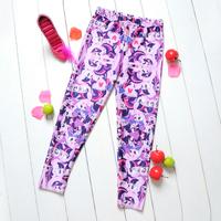 1046 stitch stars Digital Printing wholesale New 2014 School Child Legging Sports Pant Children Clothing  Baby Girl Pants