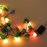 LED lamp Christmas tree decoration 3.5M 22 bulbs lamp LED string lights Christmas lights, 22Bulbs/3.5M free shipping