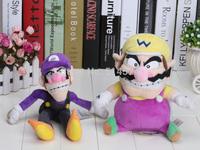 Super Mario Bros Plush Toy Doll Soft Stuffed Animal Wario Waluigi 30cm 12inches plush doll toys